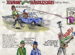 Hansens Haandlexicon - om Blues