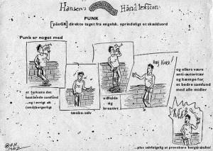 Hansens Haandlexicon - om Punk